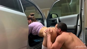xxxin Beautiful latina gets a hard fuck after the gym in the car Salty fuck