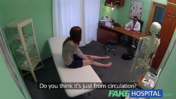voglioporno Fake Hospital Innocent redhead gets a creampie prescription
