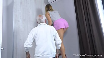 heydouga Old Goes Young - Sweetie thanks a caring mature man