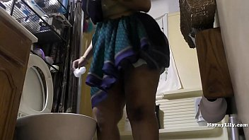 blackedraw South Indian Maid Cleans and Showers hidden camera
