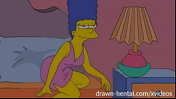 hdporno Lesbian Hentai - Lois Griffin and Marge Simpson