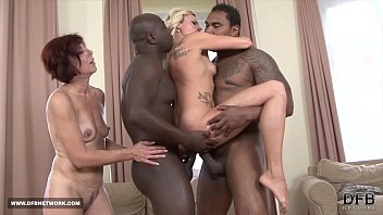 www xvideoscom Two mifls fuck two black guys swallow their cum after interracial sex