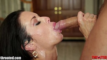branlettes THROATED Facefucking and throatfucking Veronica Avluv