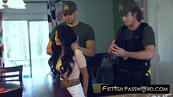 camfuze Teen Monica Asis fucked rough by policeman for release deal