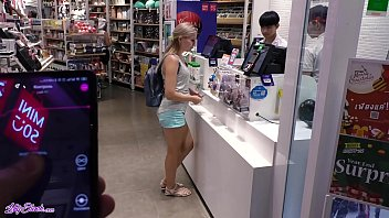 findmycam com Remote Vibrator In Large Mall - Lot Of Fun With Letty Black