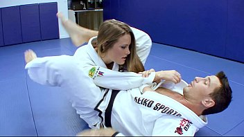 voglioporno Horny Karate students fucks with her trainer after a good karate session