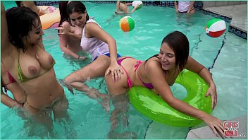 fc2        GIRLS GONE WILD - Young Latin Lesbians Have A Pool Partyma Then Eat Pussy