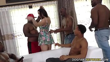 pornl Interracial Gangbang and DP with Chanel Preston
