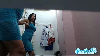 ass141tw hot lesbian milf step mom with big tits and ass filmed in dressing room changing