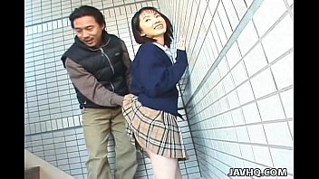 kowalskypage Schoolgirl Seire Mochizuki gets kinky on the street