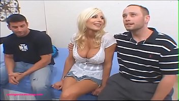 www brazers com SwingersWatching blond milf huge tits gets fuck hard in front of husband