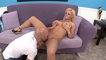 xxvideo com Cali takes home a stranger who starts licking it on the couch