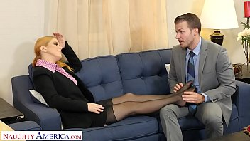 misslexa Naughty America - Penny Pax gives her intern a fuck of his life
