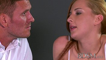 rube8 BDSM XXX Master gives young sub her first real domination experience