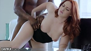 porhub DarkX Curvy Redhead Drilled by Bosses BBC on Desk