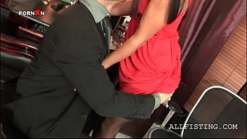 kamehasutra Sexy secretary gets cunt hammered by her boss