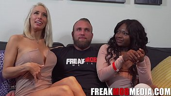 pornosex Noemie Bilasma Vannessa Skyema and the First White guy on FreakMobMedia