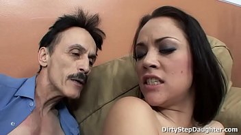 milf31 Kristina Rose showing her blowjob and fucking skills to her horny stepdad