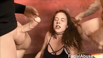 camfuze Floppy Titted Hippy face fucked and degraded