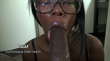 eufrat Jamaican Nerd Gives Amazing Sloppy Head- DSLAF