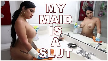 v2q BANGBROS - Big Ass Cuban Maid Talked Into Giving It Up For More Money