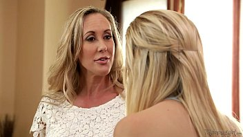 brrzzers com Busty Mommy Brandi Love and Daughter Tara Morgan