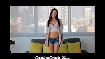 iconmale CastingCouch X - Slut shows her tight pussy on cam