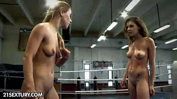 downblouse NudeFightClub presents Henessy vs Nikky Thorne