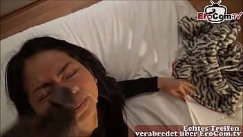phimsexporn Asia student teen cheat on in germany her boyfriend with bbc and make huge facial