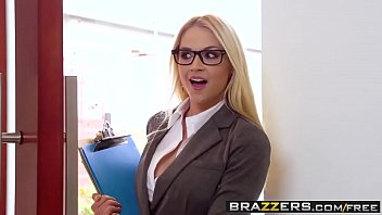 sikis Big Tits at Work - Her First Big Sale scene starring Sarah Vandella Keiran Lee and Toni Ribas