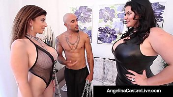 machofucker Cuban BBW Angelina Castro & King Noir Make Sara Jay Submit