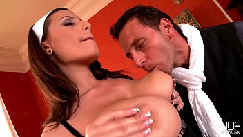 xvideos4 Busty French Maid goes crazy for her Bosses Big Dick