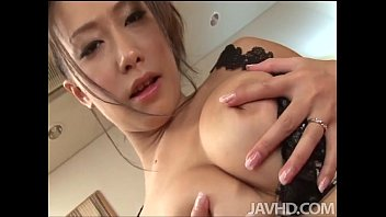 legalporno Yayoi Yanagida in a lacey bra plays with her big tits for her fuck buddy driving