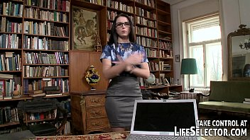 asiansexdiary Librarian stud gets dirty with book-work gals