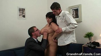 pornhib Fat bitch getting double fucked after photosession