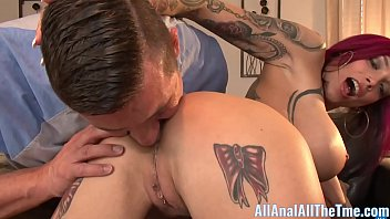 googlexxx Tattoo Babe Anna Bell Peaks Spreads Ass To Get Licked