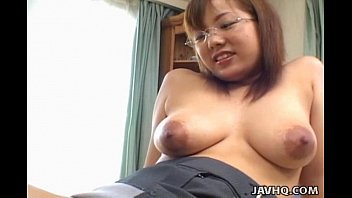 pornky Busty Japanese babe fucked at home uncensored