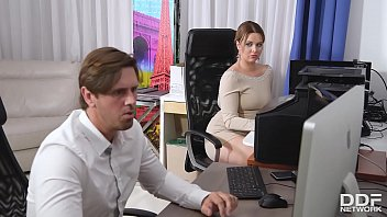 sexsagar Cock sucking at the office gives busty Nikky Dream chills of pleasure
