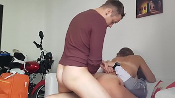 brezzersporno a neighbor came to visit and asked to fuck her in all holes