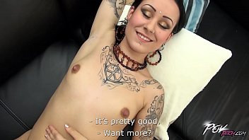 boll4u Dirty whore and her first camera audition goes really wild