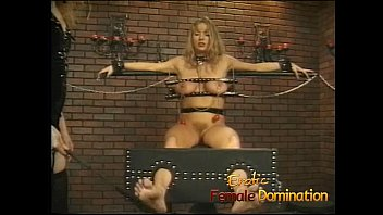 javhiv Big tits girl is a perfect subject for some painful female domination-6