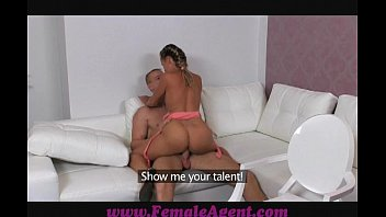 newxxx FemaleAgent Gentle giant makes female agent weak at the knees