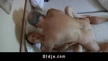 hotporntube Old pervert man fucked by a horny young maid