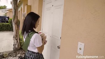 blondbunny FuckingAwesome - Scout Girl Megan Rain Gets Her Ass Fucked