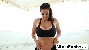 girdlequeens Alison Tyler is a sexy yoga instructor