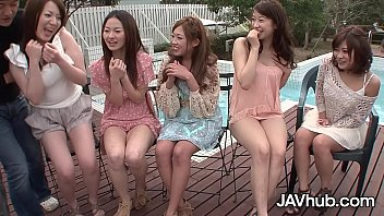 youpor JAVHUB Hardcore Japanese orgy with five sexy ladies