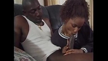 pornl Black stud fucks a girl in cunt and ass with his massive cock then creams her