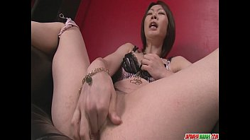 pornaki Rio Kagawa Fucks Herself With A Big Vibrator