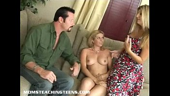 amomz Busty milf catches teen and husband redhanded and joins