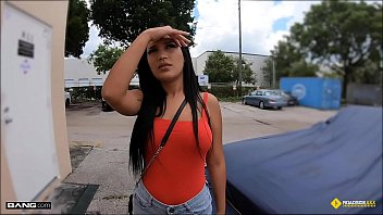 meyzo com Roadside - Stranded Latina Teen Fucks Horny Mechanic
